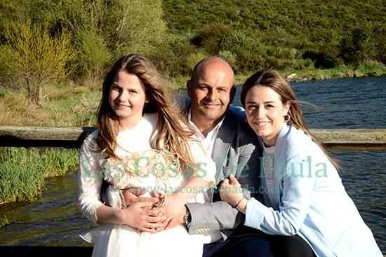 Papa con sus niñas