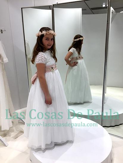 vestido de comunion del corte ingles