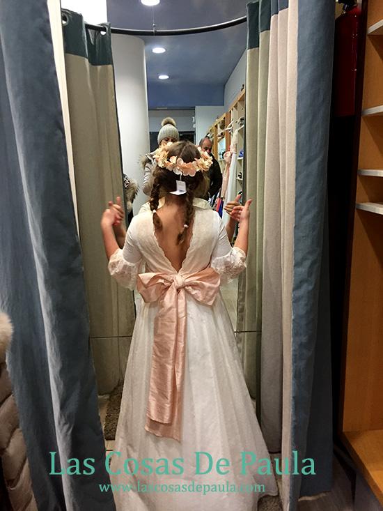 vestido de comunion de Nanos